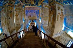 Tomb of Ramses V and VI, Valley of the Kings Egypt :) Posted by: Mahmoud Yousef Monuments, Ramses, Honeymoon Tour Packages, Egypt Culture, Visit Egypt, Valley Of The Kings, Egypt Travel, Ancient Egyptian Art, Day Tours