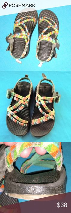 1526a2706b97 Chaco unisex kids sandals EUC Some Wear but still great shoes The Pictures  are part of