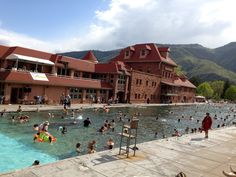 Glenwood Hot Springs:  Free Range Balls