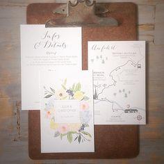 """Einladung der Kollektion """"symphonia"""" mit unserem Anfahrtsplan-Addon  #wedding #hochzeit #weddingstationery #hochzeitspapeterie #hochzeitseinladung #hochzeitseinladungen"""
