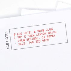 Ace Hotel Notepads – Ace Hotel Shop