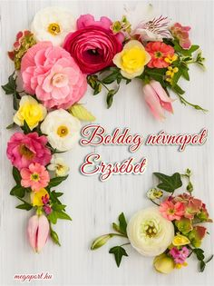 Share Pictures, Animated Gifs, Name Day, Flower Arrangements, Floral Wreath, Happy Birthday, Greeting Cards, Wreaths, Halloween