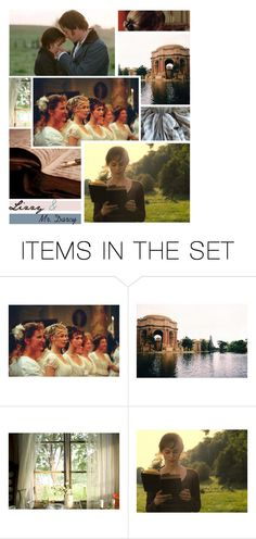 """""""Pride and Prejudice"""" by allie-luv ❤ liked on Polyvore featuring art, prideandprejudice, JaneAusten and MrDarcy"""