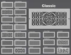 Our elegant and functional decorative air supply registers and return air grills allow your HVAC vents to complement your home's interior design.