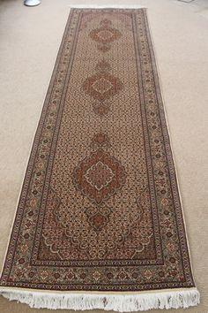 9 Tabriz Persian Rug Runner Pirouzian Mahi Carpet