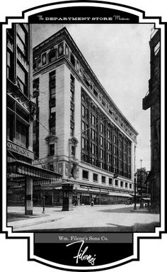 My Nana worked at one of their stores as a young woman!  William Filene's Sons Co., Boston, Massachusetts
