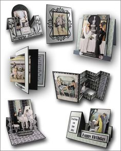 "Doocrafts Papermania Art Deco Roaring Twenties"" Card Fronts (Topper ..."