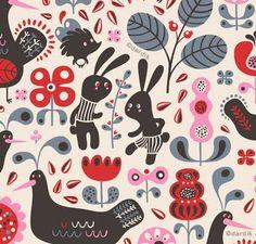 Brilliant pattern design by: Helen Dardik