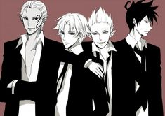 Lucifer, Akutabe, Azazel & Beelzebub