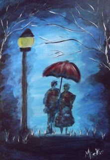 A Pretty Author - Miekie: Ek mis jou Acrylics, Arts And Crafts, Author, French, Couples, Pretty, Artist, Blog, Painting