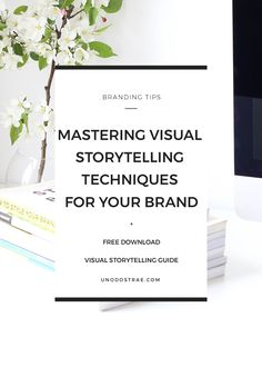 What's your story? We've compiled the only visual storytelling techniques entrepreneurs need to know to help with your branding starting now. | branding tips, entrepreneur tips, entrepreneur ideas, marketing