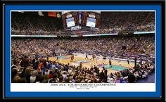 2006 ACC Tournament Champions Framed Picture