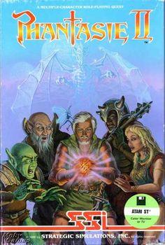 Atari ST Games - Phantasie II