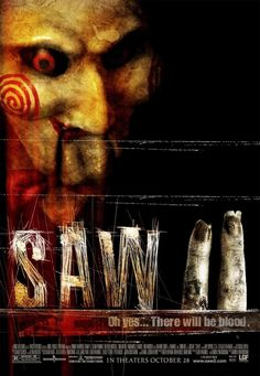 Saw II is probably my favorite of all of the Saw films. Like all the other films, the second is cringe worthy but for some reason I find it more entertaining.
