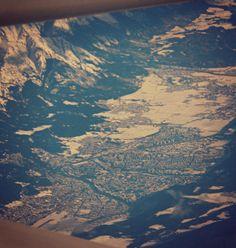 In volo, Innsbruck
