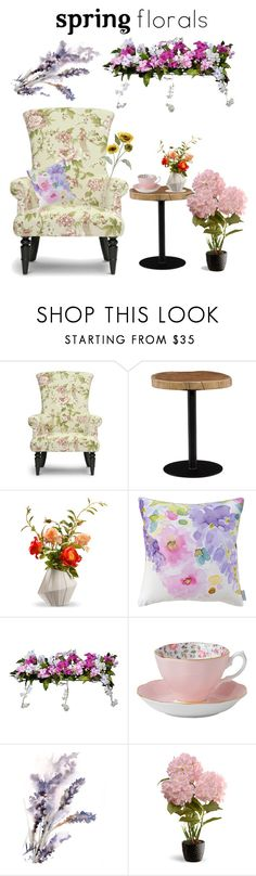 """""""Untitled #321"""" by shootingstar710 ❤ liked on Polyvore featuring interior, interiors, interior design, home, home decor, interior decorating, Baxton Studio, Moe's Home Collection, National Tree Company and Bluebellgray"""