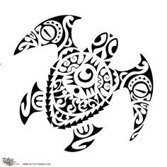 Maori turtle tatoos