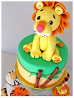 Jungle or Zoo - Kids Birthday Cakes