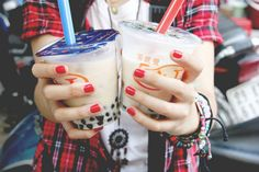 Im in love with Boba milk tea & wanna open my own store. eh?