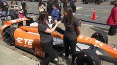 TE Connectivity Simona de Silvestro Interview: 2015 Indy500 Sponsorship