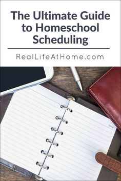 Need help putting together a daily, weekly, or yearly homeschool schedule? This ultimate guide to homeschool scheduling will help you with all of those and more! School Week, How To Start Homeschooling, School Schedule, Homeschool Curriculum, Homeschooling Resources, School Resources, Learning Activities, Kids Learning, Home Schooling