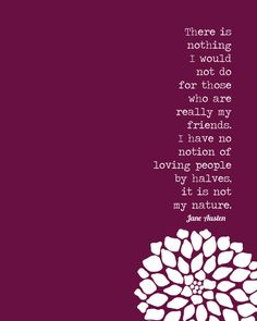 Friends - Jane Austen