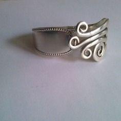 Bracelet fourchette,  perle,mode, bijoux original, artisanal, fait main