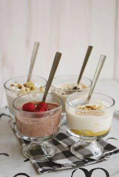 TRY THESE | banana bread greek yogurt + cookie dough greek yogurt