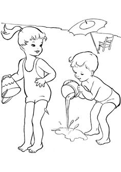 Summer Coloring Pages For #Toddlers
