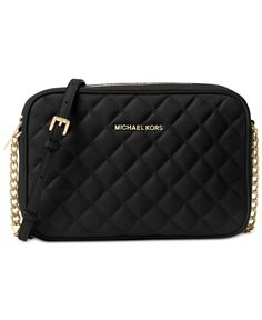 4342414935a9 MICHAEL Michael Kors Jet Set Travel Large East West Quilted Crossbody &  Reviews - Handbags & Accessories - Macy's