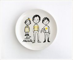 MerMagFathersDayPlates1 by mer mag, via Flickr