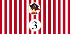 Pirate Party Water Bottle Labels (free printables)