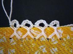 Filomena Crochet e Outros Lavores: - Bico de Crochet em Cruz