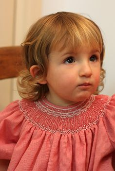 Creations By Michie` Blog: The Christmas Dress Rerun--free smocking plate pattern