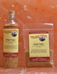Ginger Sugar from The Salt Table; goes great in #eggnog!