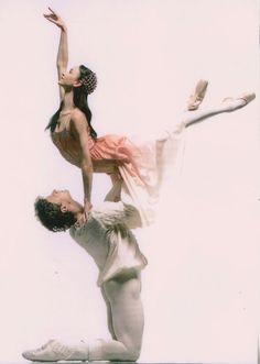 Lucia Lacarra and Ciryl Pierre....ballet pas de deux