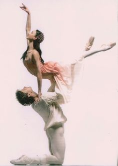 Lucia Lacarra and Ciryl Pierre, still cant believe they danced with my old company!