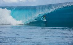 Matahi Drollet at Teahupoo by eoldigs