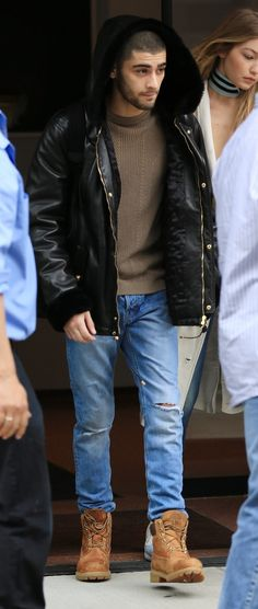 Zayn Malik in the Heritage 6 inch Boots.