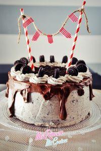 Mi Rincón, Mi Cocina - Repostería Creativa y Tradicional, Salados - Recetas de cocina: Tarta cumpleaños Andrea: chocolate y oreos | Chocolate and Oreo Cake