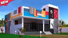 House Front Wall Design, House Balcony Design, House Outer Design, House Arch Design, Single Floor House Design, Modern Small House Design, Village House Design, Simple House Design, Home Building Design