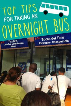 Top Tips for Taking an Overnight Bus • The Blonde Abroad
