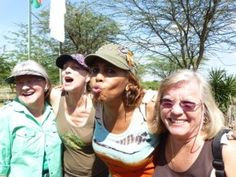 Kisses for our staff:  Come on over to findyourselfinafr...  ONE Trip Can Change Everything!