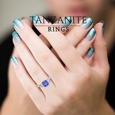 #Tanzanite is an extraordinary gemstone. It occurs in only one place worldwide. Its blue, surrounded by a fine hint of purple, is a wonderful colour.