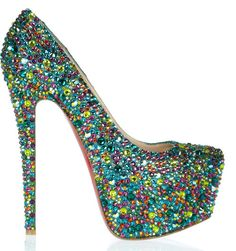 Christian Louboutin. Id be like 10 feet tall, but these are so amazing I would wear them