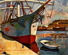 Ship at Le Havre (also known as Ship in Harbort, Le Havre) Georges Braque - 1905