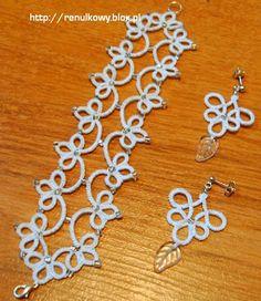 Mekik Oyasından Takı / Tatted Jewellery: bracelet