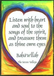 Listen with heart and soul