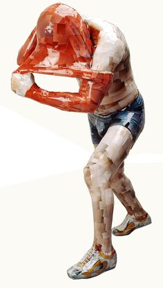 Escultura + Fotografía = Gwon Osang.