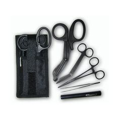 Shears; EMT/Scissors combo pack w/holster -Tactical All Black Rescue Essentials http://www.amazon.com/dp/B00474LZ1I/ref=cm_sw_r_pi_dp_PxwZsb0238JNAHPR
